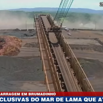 Video shows precise moment of the dam collapse at Brumadinho