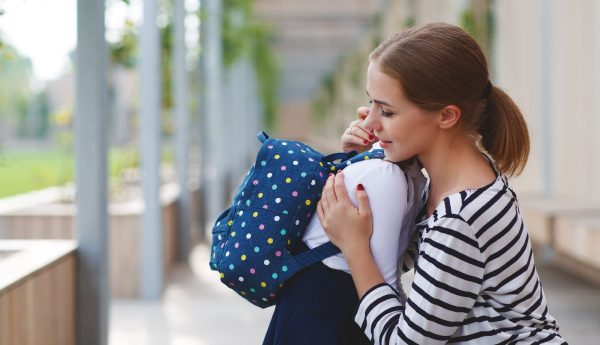First day of school: when mothers suffer the pain of separation more