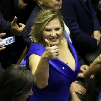 Joice Hasselmann announced as government's new leader in the House