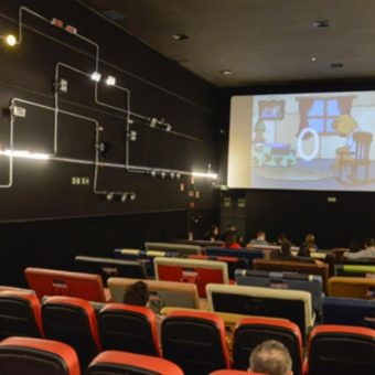 Caixa stopped sponsoring an art movie theater in São Paulo. And they are right