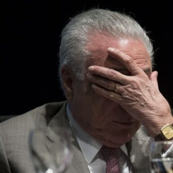 Michel Temer arrested for bribes associated with Angra 3 nuclear plant