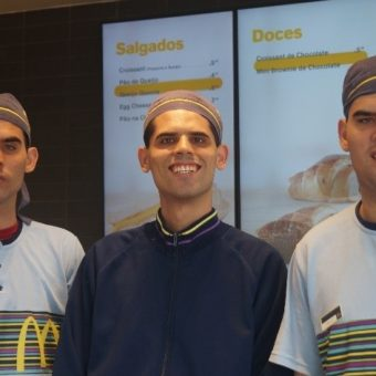 Autistic brothers form a successful trio in fast food chain