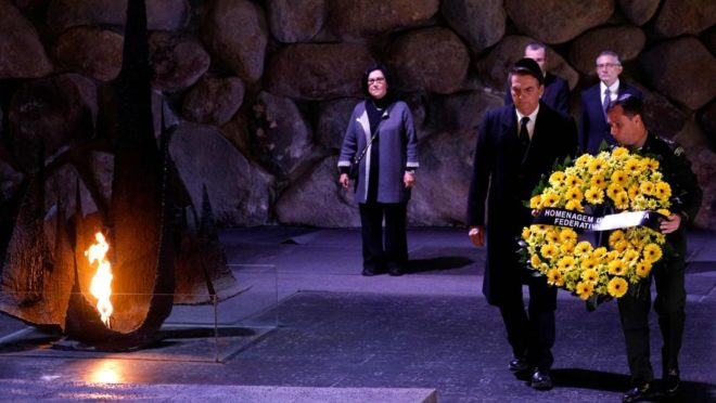 In Israel, President Bolsonaro insists on historical revisionism