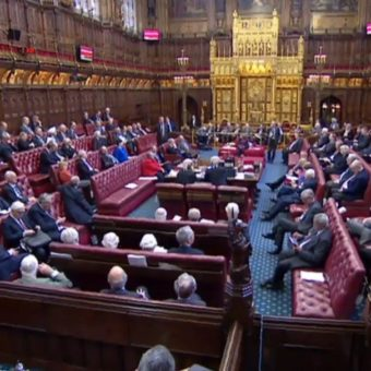 Is Britain falling apart? Leak in Parliament forces lawmakers to evacuate.