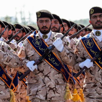 Trump names Iranian military unit as a terrorist group