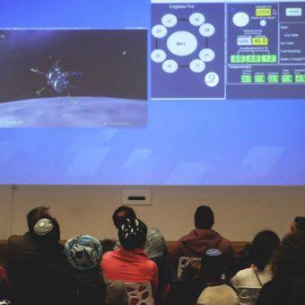 Israelispacecraft reaches the moon – with a crash