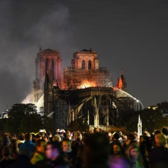 Major blaze devastates Notre-Dame cathedral in central Paris