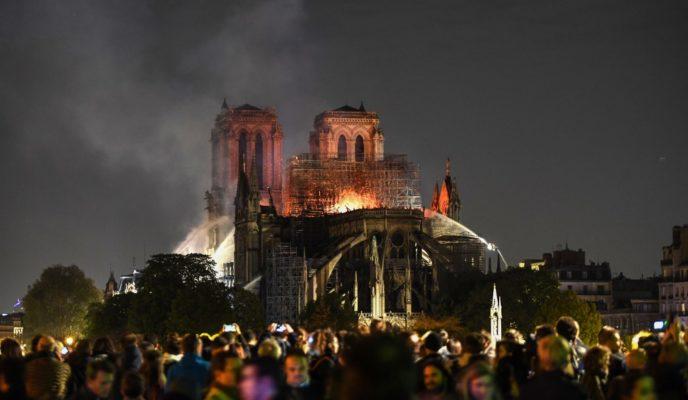 Major blaze devastatesNotre-Damecathedral in central Paris