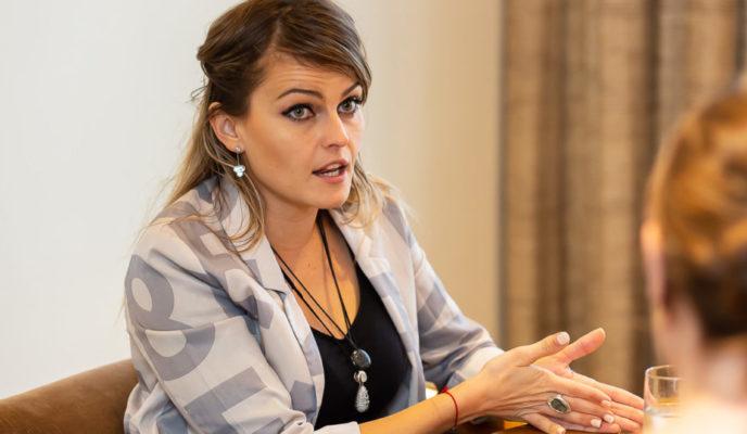 """""""The problem is many people are afraid of freedom"""", says antipopulist Gloria Álvarez"""