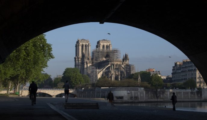 All is ephemeral. Even Notre Dame.
