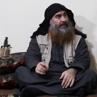 ISIS leader Baghdadi appears in a video for the first time in five years