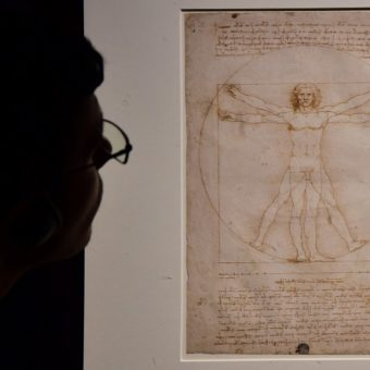 In Florence, da Vinci's inventions are there for the touching
