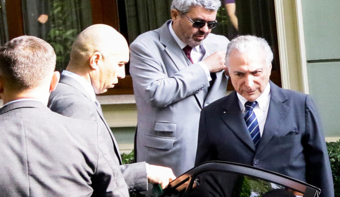 Michel Temer surrenders to Federal Police