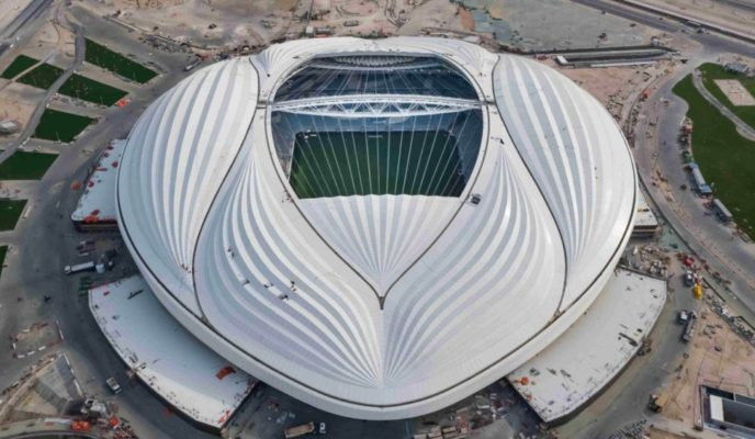 Controversial stadium built for 2022 World Cup is inaugurated