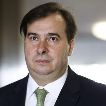Rodrigo Maia is charged with corruption, money laundering, and slush funds