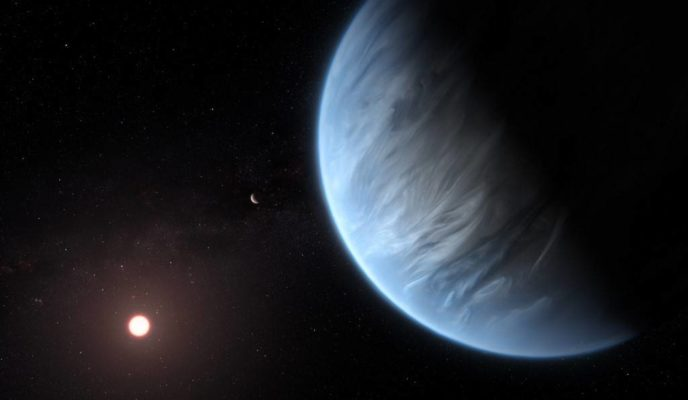 Water is found for the first time on potentially habitable planet