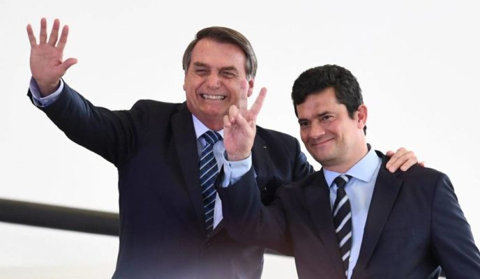 Bolsonaro and Moro launch campaign for anticrime package