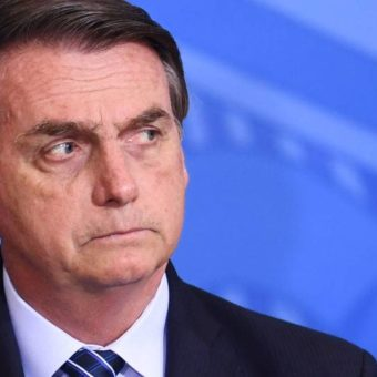 "Bolsonaro challenges press: ""You want to take me down? I've got thick skin"""