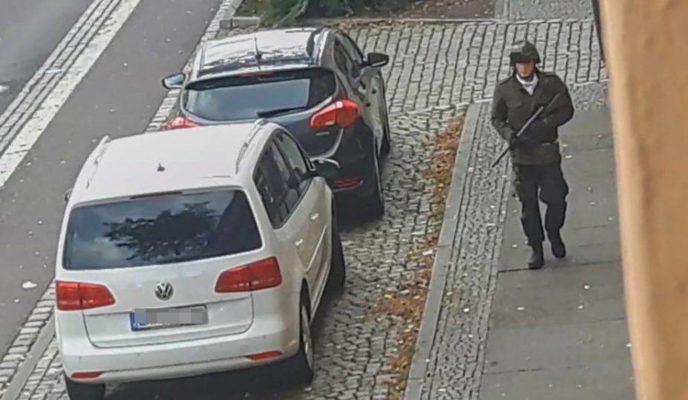 Anti-Semitic attack in Germany kills two