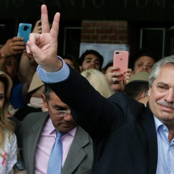 Alberto Fernández wins Argentinian presidency in first round of elections