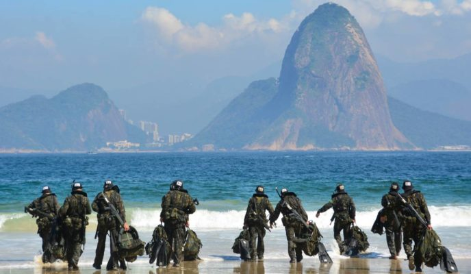 """War club"": Brazil rises in military strength ranking"