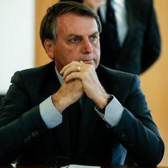 """I'm waiting,"" says Bolsonaro after Iran summons Brazil's representative"