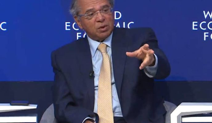 Paulo Guedes in Davos