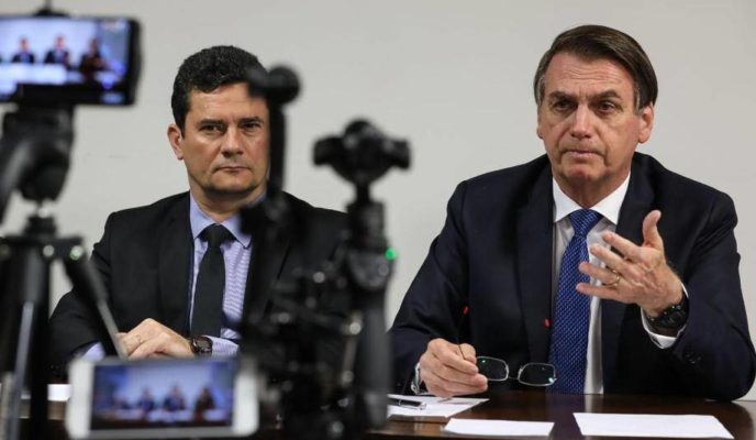 Rumor surrounding ministry breakup creates tension between Moro and Bolsonaro