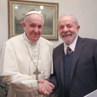 Lula meets Pope Francis at the Vatican