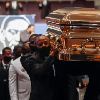 """George Floyd hailed as """"cornerstone of a movement"""" at funeral"""