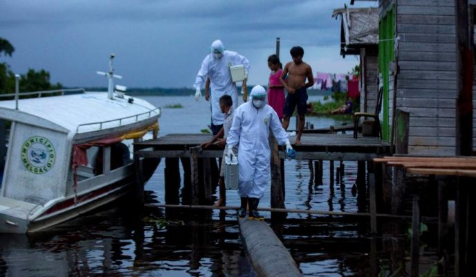 Brazil's smaller cities and rural areas becoming easy target for the pandemic