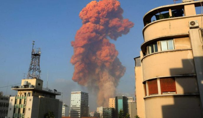 Massive explosion devastates Beirut, leaving several dead and wounded