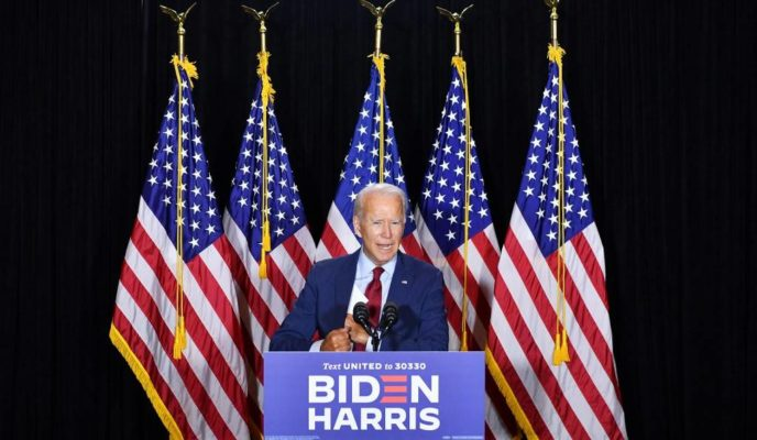 Biden leads Trump 50% to 41% in new poll