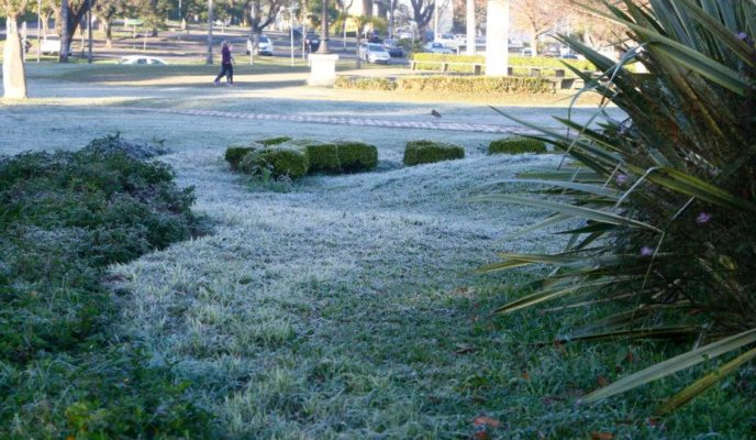 Cold front hits Brazil and drops temperatures
