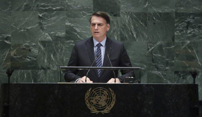 Bolsonaro to open first 'virtual' UN General Assembly