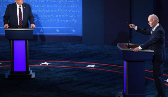 First US presidential debate ends with no clear winner