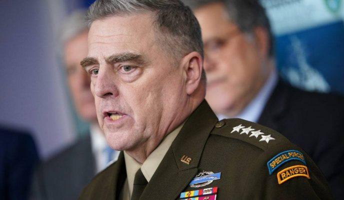 Senior Pentagon leadership in quarantine after officer tests positive