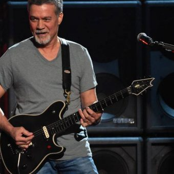 Rock legend Eddie van Halen dies at 65