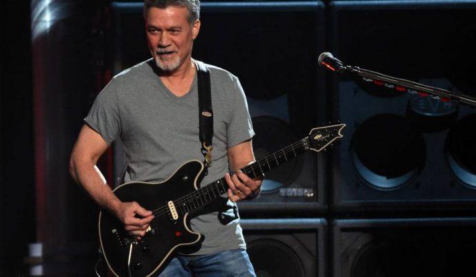 Rock legend Eddie van Halen dies at 65