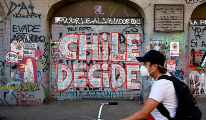 In referendum, Chileans vote to draft a new Constitution