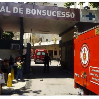 Hospital fire kills at least three in Rio de Janeiro
