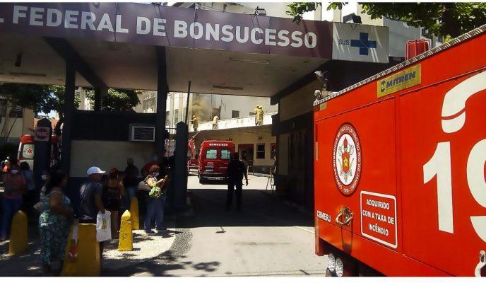 Hospital fire kills at least three in Rio de Janeiro