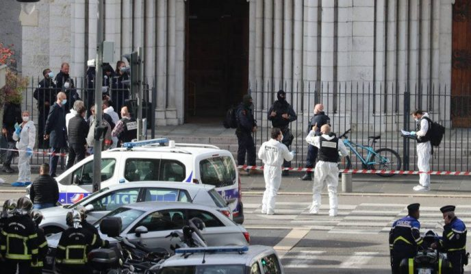Three people, one Brazilian, killed in French church knife attack