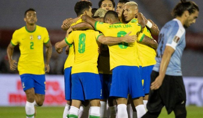 Brazil beats Uruguay to remain undefeated in World Cup qualifying