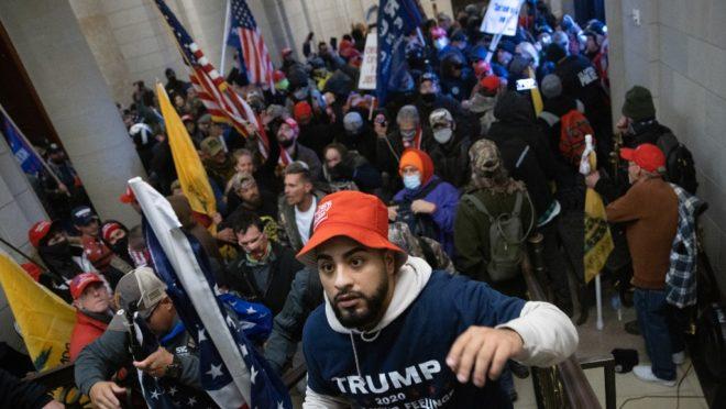 Pro-Trump mob storms US Capitol