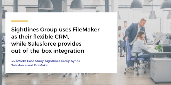 FileMaker and Salesforce Integration using 360Works MirrorSync