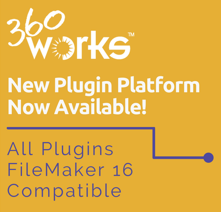 FileMaker 16 Plugins 360Works.