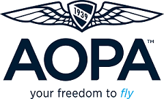 Logo for AOPA Flight Training Scholarships