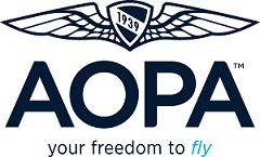 Logo for AOPA Flight Training Scholarships