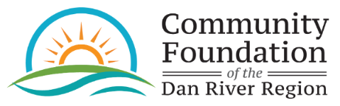 Logo for Scholarships - The Community Foundation of the Dan River Region